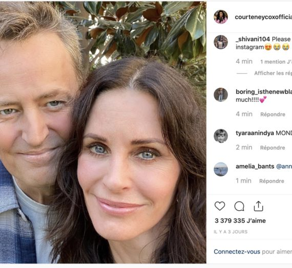 Friends reunited : le couple de la série sur Instagram !