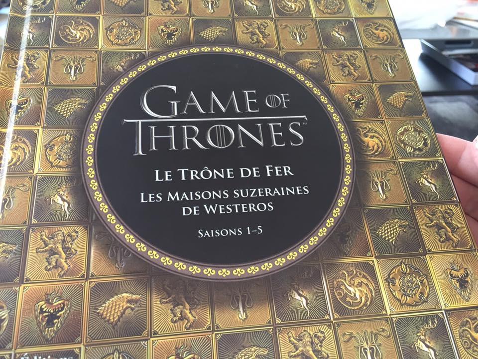 Jeu concours pour remporter le livre Game of Thrones
