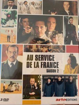 Jeu-concours ! Coffret DVD d'Au Service de la France saison 2 à gagner