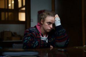 Sara Forestier interprète Marie, jeune marginale co-accusée du meurtre d'une vielle dame. © Shanna Besson - le Pacte